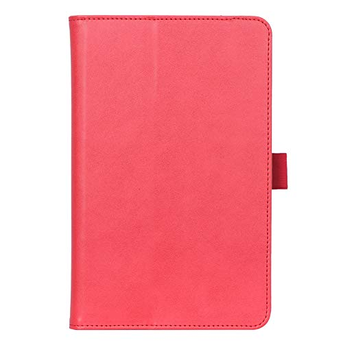 ISIN Premium PU Folio Protective Case Stand Cover for Samsung Galaxy Tab A 8.4-inch 2020 SM-T307(No for Tab A 8.0 SM-T290 T295 P200 P205 T350 T355 P350 P355 T380 T385 T387) Android Tablet PC(Red)