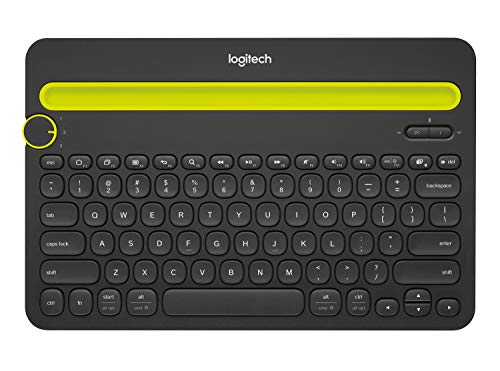 Our #2 Pick is the Logitech K480 Bluetooth Multi-Device Keyboard