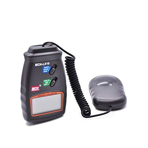 HEQIE-YONGP Wissenschaftliche Meter Tragbares digitales Beleuchtungsmessgerät MCH-LX10 Digitales Beleuchtungsmessgerät Instrument