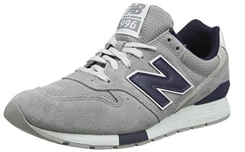 New Balance Herren 996 Sneaker, Grau (Steel/Pigment Wg), 40 EU