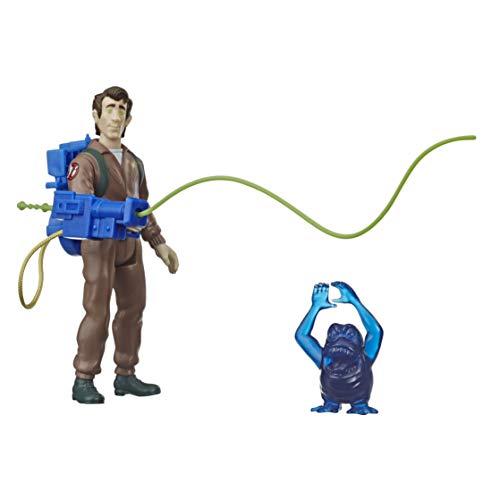 Hasbro E9782 Ghostbusters - Peter Venkman e Il Fantasma Grabber (Action Figure da Collezione con Zaino ed Accessori a Marchio Kenner Classics Retro)