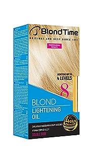 Blond Time Aceite Decolorante para cabello aclara hasta 4 tonos 180 ml