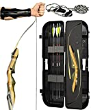 Spyder XL Takedown Recurve Bow - Ready 2 Shoot Archery Set | Includes Bow, Instructions, Premium Carbon...