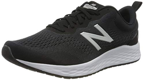 New Balance Hombre Fresh Foam Arishi v3 Scarpe Running, Negro (Black/White), 40 EU X Wide