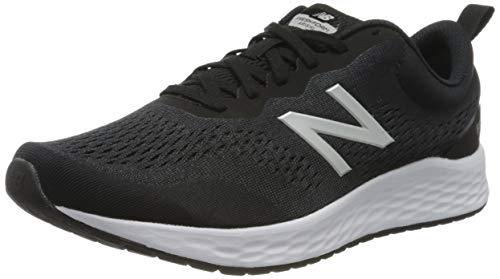 New Balance Hombre Fresh Foam Arishi v3 Scarpe Running, Negro (Black/White), 45 EU