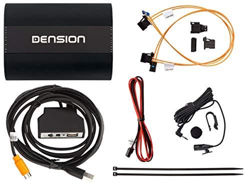 DENSION GATEWAY 500S BT GW52MO1 (iPhone + iPod + USB + AUX + Bluetooth) voor Audi, BMW, Mercedes & Porsche met MOST-BUS (Single FOT)