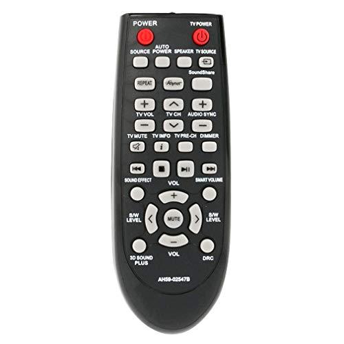 VINABTY AH59-02547B AH5902547B Telecomando sostitutivo adatto per Samsung sistema soundbar HW-F450 HWF450 PS-WF450