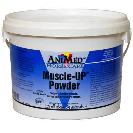 AniMed MuscleUp Powder (5 lb)_LQ