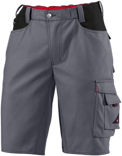 BP Latzhose, mit extra breiten Stretch-Hosenträgern, 410,00 g/m², anthrazit/schwarz ,52l