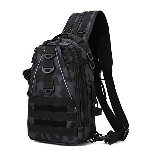 Satchel, Waist Bag, Leg Bag Men's Sling Bag Nylon Chest Shoulder Crossbody Multifunctional Outdoor Camping Hiking Sport Purse (Color : 3, Size : One Size)