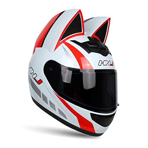 NANE Casco Integral De Moto Moto Scooter,A,M
