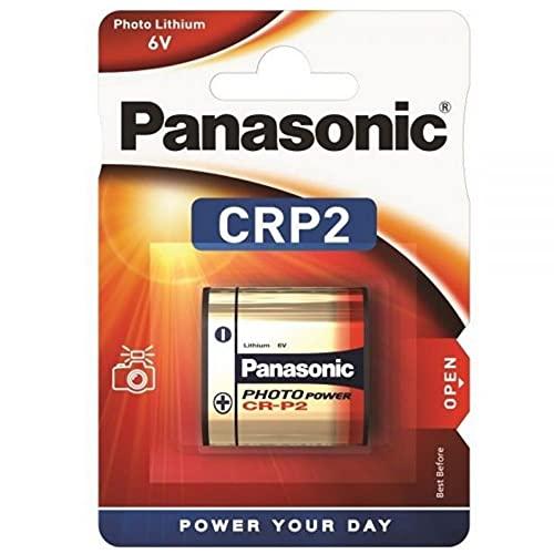 Panasonic crp2p Batterie: Kamera-Foto Lithium 1300mah 6v cr-p2 dl223a 36 x 19.5x34 mm Gewicht 37gm Kamera schneller Flash-tech.crp2 Photo-Lithium-Batterie crp2p dl223a cr-p2 k223la el223ap p