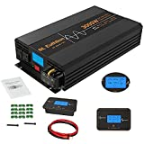 SL Euthtion 3000W Pure Sine Wave Power Inverter 12V DC to 120V AC 60HZ with LCD Display, USB Port,...
