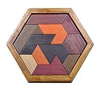 古典的な木製パズルマインドクイズバリ連動パズルゲームおもちゃ大人の子供のため