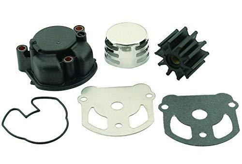 emp Water Pump Kit for OMC Cobra (with Housing) 1986-1992 2.3L, 2.5L, 3.0L, 4.3L, 5.0L, 5.7L, 5.8L, Replaces 984461 983895 984744 18-3348, Please Read Product Description for Exact Applications