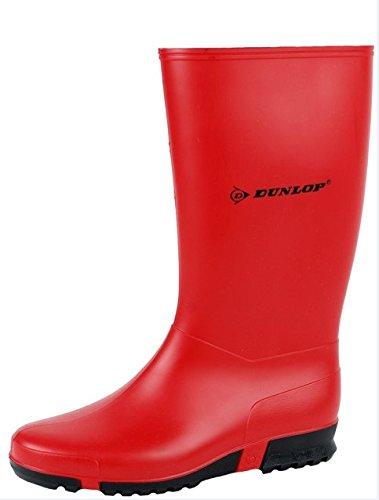 Dunlop K23103390 K231011.HA Sportstiefel PVC, 39, Rot