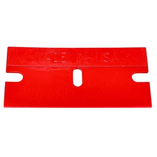 Shark Industries Plastic Razor Blades - 100 Pk