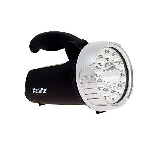 Xanlite MPR80 Format Compact-Lampe Piles Incluses-Eclairage 10H D'Autonomie-Baladeuse LED Portée D'Éclairage De 5 m-Projecteur Lumiere-MPR80