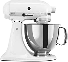 KitchenAid Artisan 4.8L 300W Stand Mixer-White (Model:5KSM150PSBWH)
