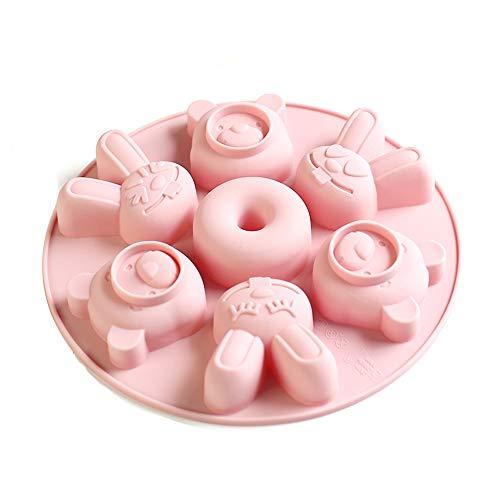 Siliconen mal, gebruikt om chocolade, snoep, gelei, pudding, voedsel kwaliteit siliconen materiaal is bestand tegen hoge temperatuur en gemakkelijk te reinigen