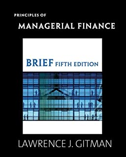 Principles of Managerial Finance Brief Plus Myfinancelab Student Access Kit Value Package (Includes Study Guide for Princi...