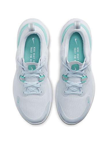 Nike Women's React Miler Running Shoe, Football Grey/White, 9 B(M) US