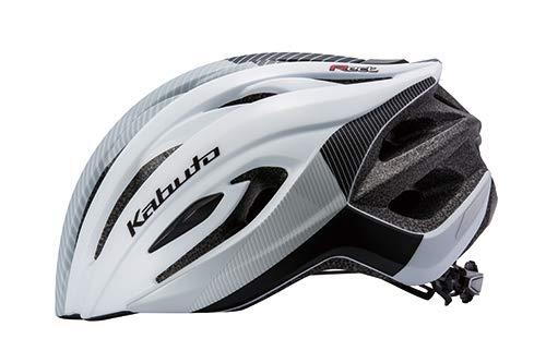 オージーケーカブト(OGK KABUTO) 自転車 ヘルメット RECT(レクト) G-1マットホワイト サイズ:M L(頭囲:57~60cm)