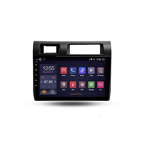 Foof Autoradio Coche Bluetooth 2 DIN Android Radio De Coche 9'' Pantalla Táctil WiFi Plug and Play Completo RCA Soporte Carautoplay/GPS/Dab+/OBDII para Toyota Land Cruiser LC 70,Quad Core,WiFi 2G+32G