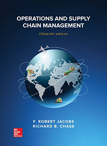 Operations and Supply Chain Management (IRWIN OPERATIONS/DEC SCIENCES)