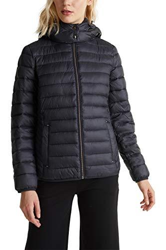 ESPRIT Damen 129Ee1G005 Jacke, Schwarz (Black 001), Medium (Herstellergröße: M)