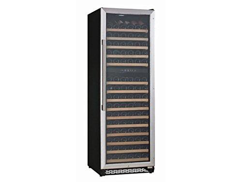 Profi Weinkühlschrank, 177 Flaschen, 2 Temperaturzonen, 5-10° C und 10-18° C, GGG WS-168DZ