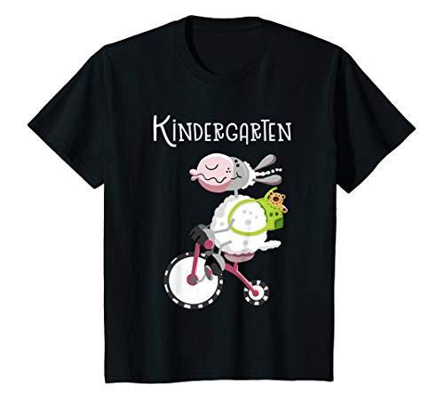 Kinder Kindergarten Schaf Auf Dreirad I Junge Mädchen Geschenk T-Shirt