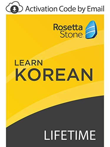 Rosetta Stone: Learn Korean with Lifetime Access on iOS, Android, PC, and Mac [Activation Code by Email]