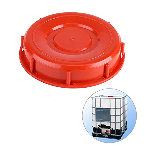 Joyoya IBC Tote Tank Cover Heavy Duty Plastic IBC Tank Adaptor Water Liquid Storage Lid Cap with Gasket for Chemical Medicine Food and Industry Storage