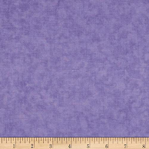 Santee Print Works Cotton Blenders Lavender Quilt Fabric by the Yard, Lavender