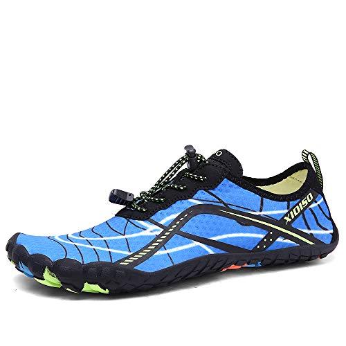 Zapatos de Agua para Hombre Mujer Calzado de Natación Buceo Snorkel Piscina Playa Deportes Acuáticos Surf Escarpines
