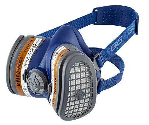 Elipse GVS SPR504 Elipse A1P3 semimaschera con filtri fissi senza manutenzione pronta all'uso, M/L