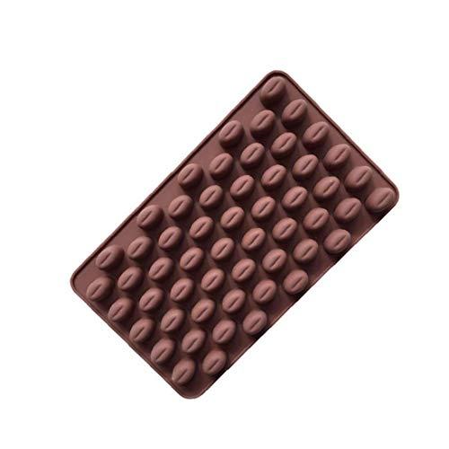 tJexePYK Kaffee Korn Shaped EIS/Kuchen/Brot/Backformen Schimmelpilze Silikon Non-Stick Kuchen Gelegentliche Farbe