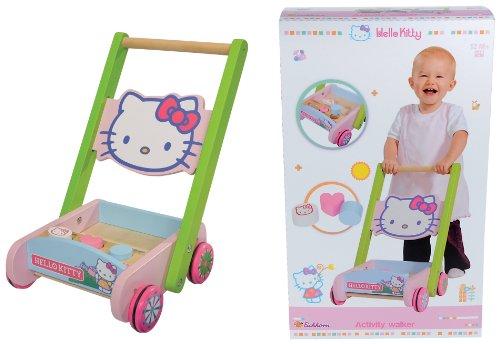Eichhorn 100003140 - Hello Kitty Spiel- und Lauflernwagen