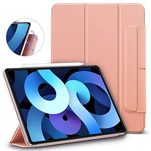 ESR Rebound Magnetic Case for iPad Air 2020, Rose Gold