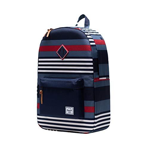 Herschel Heritage Backpack Malibu Stripe Peacoat