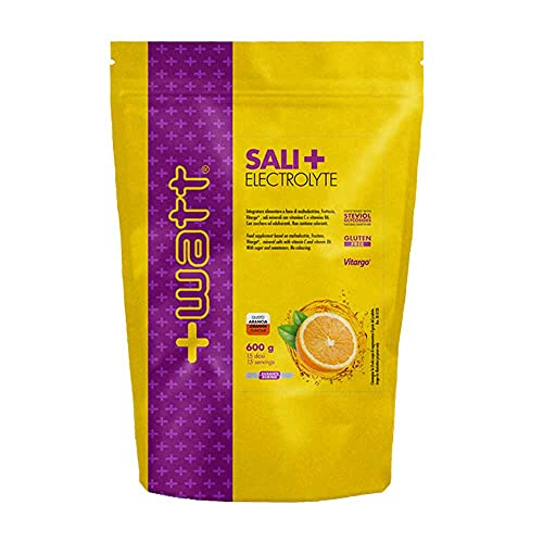 +Watt Sali+ Electrolyte - Doypack Da 600g (Arancia)