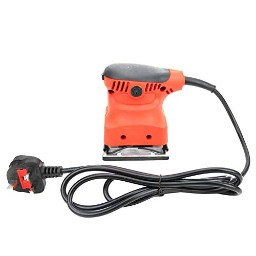 Lijadora eléctrica, lijadora eléctrica, pulidora para carpintería, pared, pintura para madera, lijado, pulido, herramienta(ME)