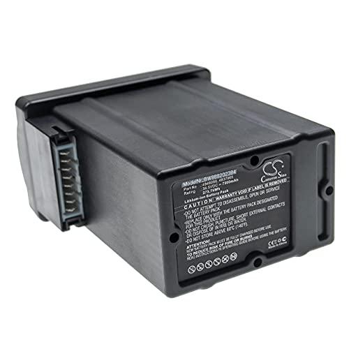 vhbw Batería Recargable Compatible con Wolf Garten Power 37, 40 cortacésped, Robot cortacésp...