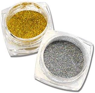 Gabcus 1g Bottle Shinning Laser Silver Mermaid Max 61% OFF Effect Nail Gold free