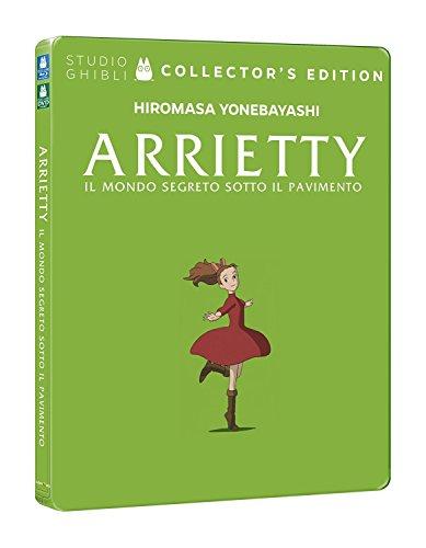 Arrietty - Il Mondo Segreto Sotto Il Pavimento (Ltd Steelbook) (Blu-Ray+Dvd) [Italia] [Blu-ray]