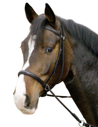 USG Gebisslose Trense ''Connection'', schwarz, Pony