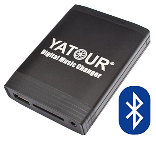 Yatour YT-M06-VW12-BT Digitaler Musikadapter USB SD AUX Adapter Bluetooth Freisprecheinrichtung kompatibel mit VW 12Pin