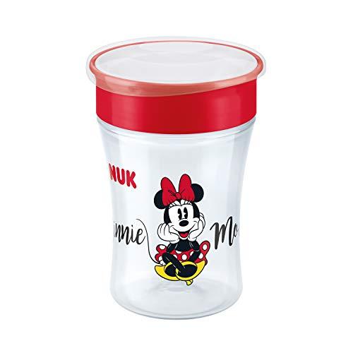 Copo Antivazamento 360° NUK Disney - Magic Cup 230ml - Girl, NUK, Vermelho