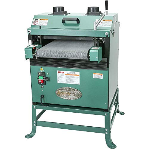 Grizzly Industrial G1079R - 16' 2 HP Drum Sander w/Rubber...